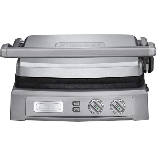 Cuisinart GR-150 Griddler Deluxe Brushed Stainless - Renewed