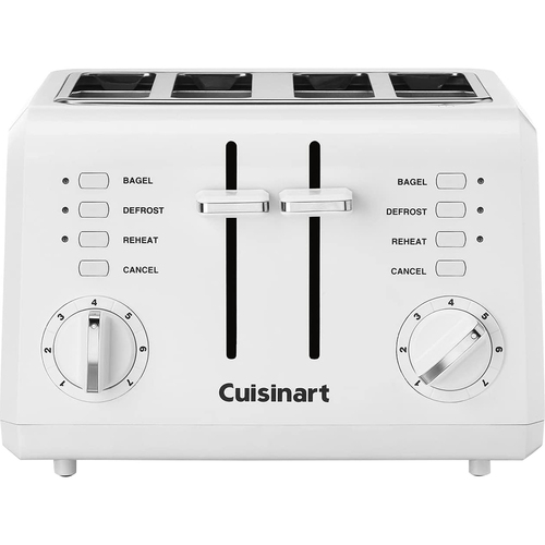 Cuisinart CPT-142 Compact 4-Slice Toaster White - Renewed