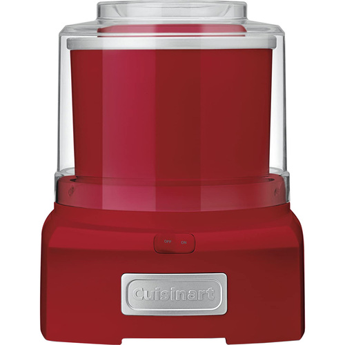 Cuisinart ICE-21R - Frozen Yogurt-Ice Cream & Sorbet Maker, Red