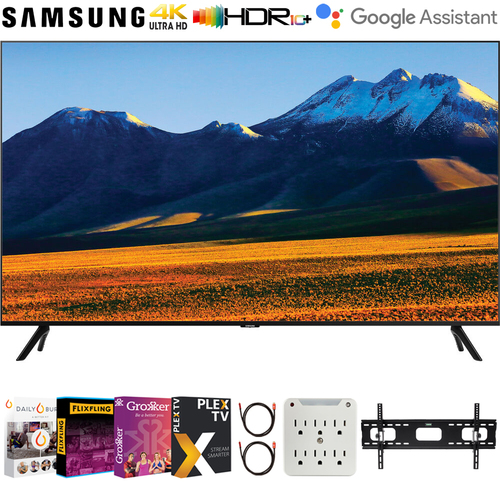 Samsung UN86TU9000 86` 4K Ultra HD Smart LED TV 2020 + Movies Streaming Pack