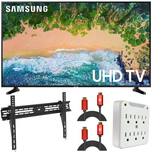 Samsung UN75NU6950 75` NU6950 Smart 4K UHD TV (2018) (Renewed) + Wall Mount Kit