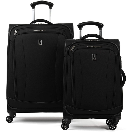 Delsey Travelpro TourGo Softside Lightweight 2-Piece Luggage Set - Black (21/25)