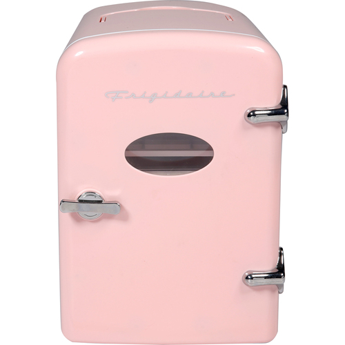 Frigidaire Portable Retro 9-Can Mini Fridge - Pink EFMIS175