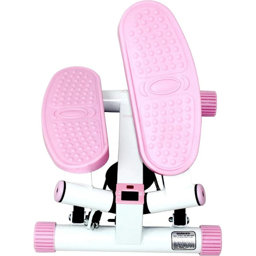 Sunny Health and Fitness P8000 Sunny Pink Adjustable Twist Stepper - Open Box