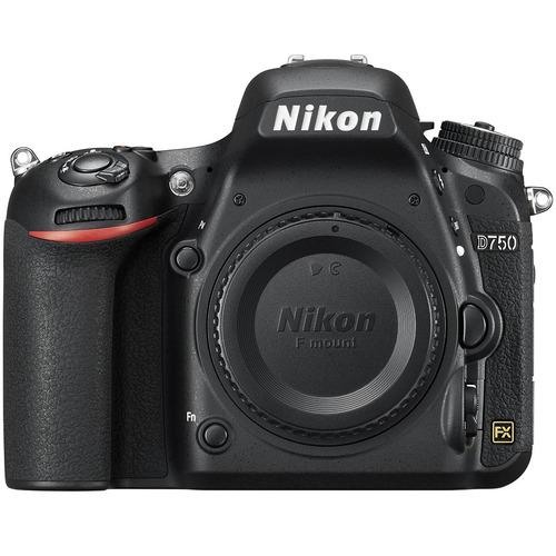 Nikon D750 DSLR 24.3MP HD 1080p FX-Format Digital Camera - Body Only