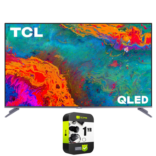 TCL 65`  5-Series 4K QLED Dolby Vision HDR Smart Roku TV +1 Year Extended Warranty