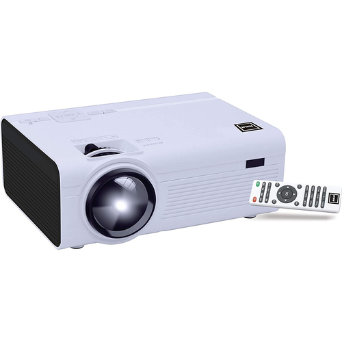 RCA RPJ136 LCD Home Theater Projector Up to 130` Screen Supports 1080p (480p Native)