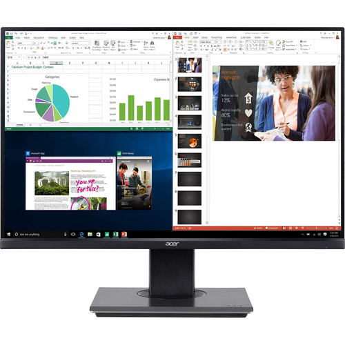 Acer BW257 bmiprx 25` Full HD 1920x1200 16:10 Widescreen IPS Monitor, Black