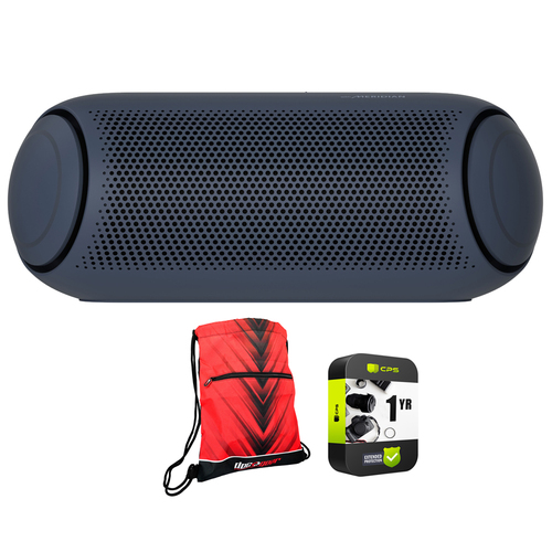 LG XBOOM Go PL7 Portable Bluetooth Speaker with Backpack and Extended Warranty