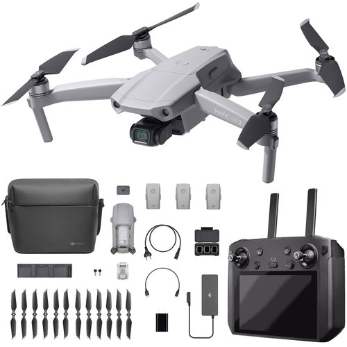 DJI Mavic Air 2 Drone Quadcopter 48MP & Video Fly More Combo with Smart Controller