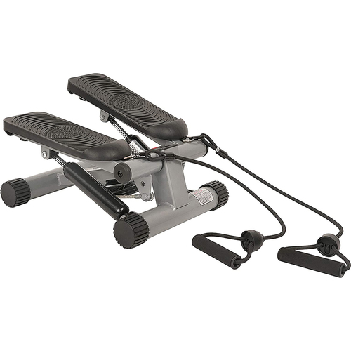 012-S Mini Compact Exercise Stepper with Resistance Bands - Open Box