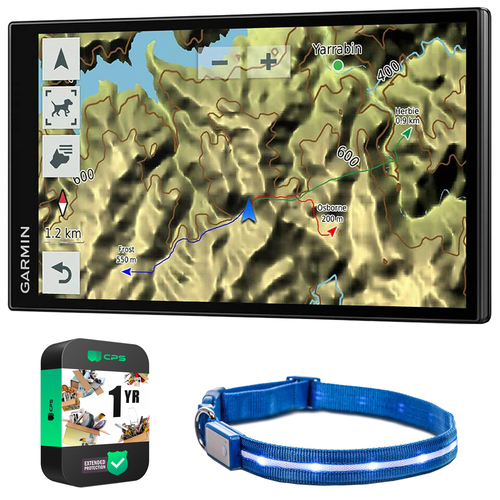 Garmin DriveTrack 71 In-Vehicle Dog Tracker GPS Navigator w/ Warranty Bundle