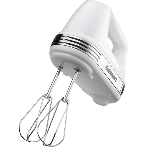 Power Advantage 5-Speed Hand Mixer, White - HM-50