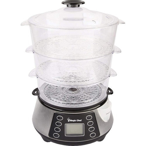 MAGIC 3 Tier Electroic Food Steamer