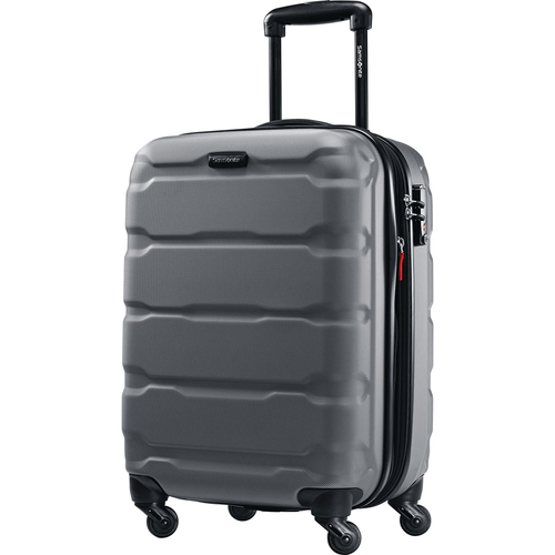 Samsonite Omni Hardside Luggage 20` Spinner Charcoal 68308-1174 - Open Box