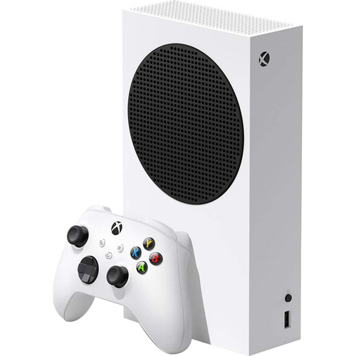 Xbox Series S 512 GB SSD All Digital, Disc-Free Gaming Console, White