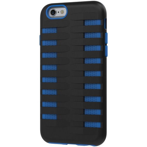Urge Basics Cobra Apple iPhone 6 Silicone Dual Protective Case - Black/Blue