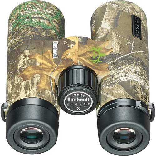 Bushnell Engage X 10X42 Binoculars Real Tree BENX1042RB
