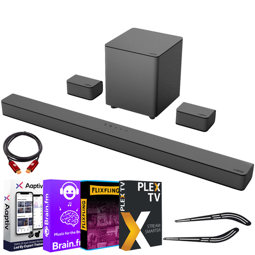 Vizio 5.1 Channel Sound Bar System with Wireless Subwoofer +Software Bundle