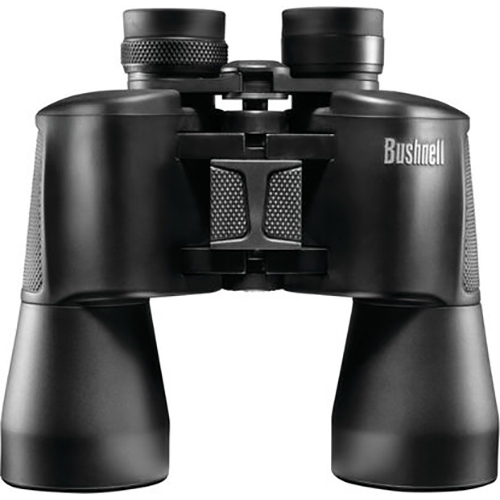 Bushnell 10x50mm PowerView Porro Prism Binoculars, Black - 131056C