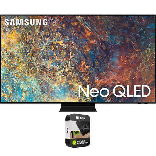 Samsung 75 Inch Neo QLED 4K Smart TV 2021 with Premium 1 Year Extended Plan