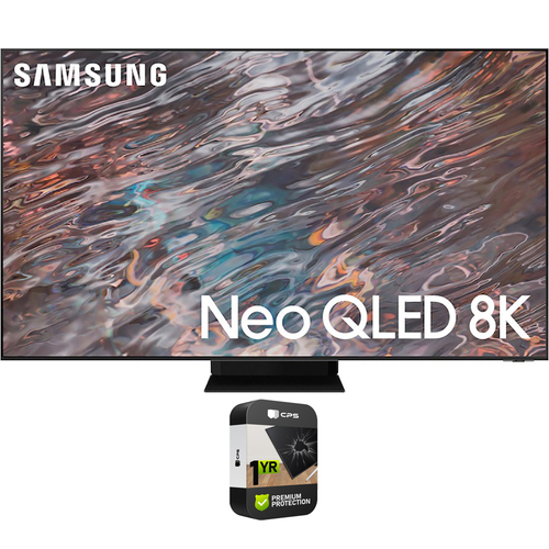 Samsung 85 Inch Neo QLED 8K Smart TV 2021 with Premium 1 Year Extended Plan