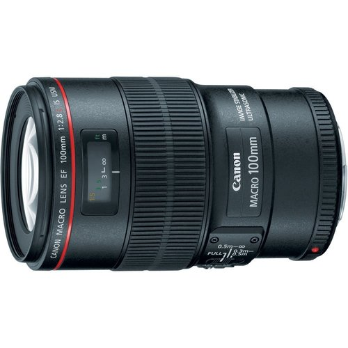 Canon EF 100mm f/2.8L Macro IS USM L-Series Lens (3554B002)