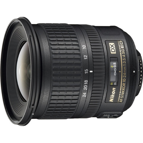 Nikon AF-S DX NIKKOR 10-24mm f/3.5-4.5G ED Lens - FACTORY REFURBISHED