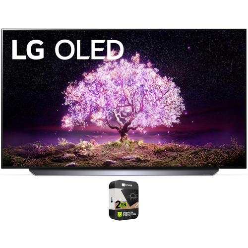 LG 77 Inch 4K Smart OLED TV with AI ThinQ 2021 Model + 2 Year Extended Warranty