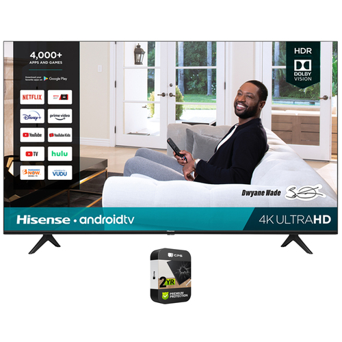 Hisense H65G 65` 4K UHD Android Smart TV 2020 with 2 Year Extended Warranty