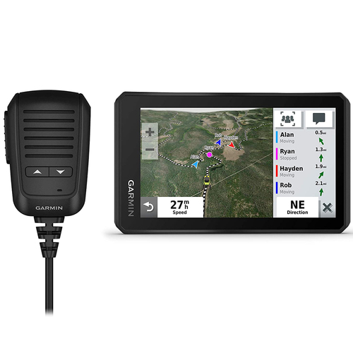 Garmin Tread Powersport 5.5` Screen Off-Road Navigator with Group Radio - 010-02406-00