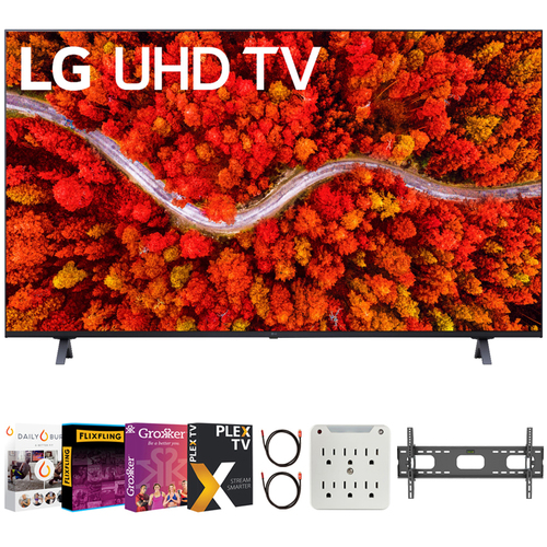 LG 75 Inch Series 4K Smart UHD TV 2021 with Movies Streaming Pack