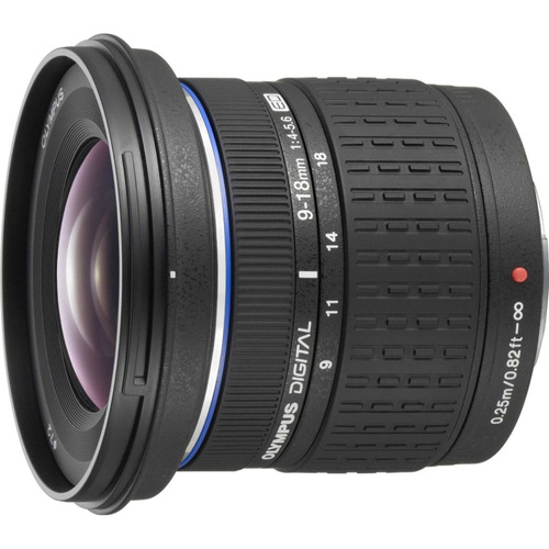 Olympus Super Wide Angle 9-18mm f/4-5.6 ED Zuiko Zoom Lens for Olympus Digital SLR