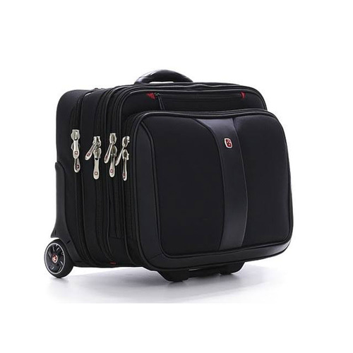 Wenger Swissgear Potomac Rolling Case - Fits up to 17` Laptop (Black)