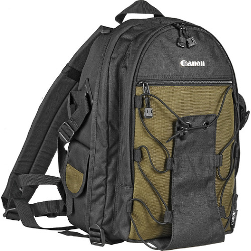 Canon Deluxe Backpack 200 EG/ for 2 Digital SLR with 3-4 Lenses, Flash and Accessories