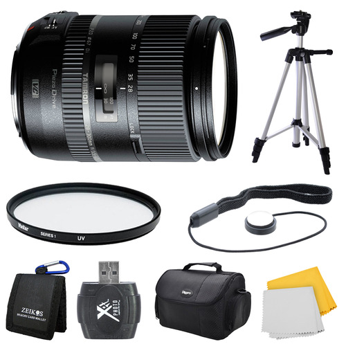 Tamron 28-300mm F/3.5-6.3 Di VC PZD Lens for Canon Bundle