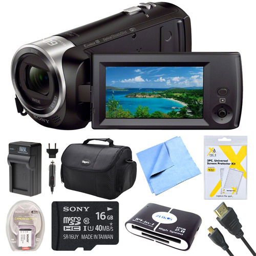 Sony HDR-CX440 Full HD 60p Camcorder Bundle