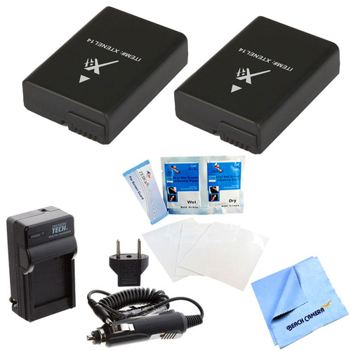 Special 2 Pack Battery Kit For Nikon P7000, P7100, P7700, D3300, D3200,D5100,D5200,D5300
