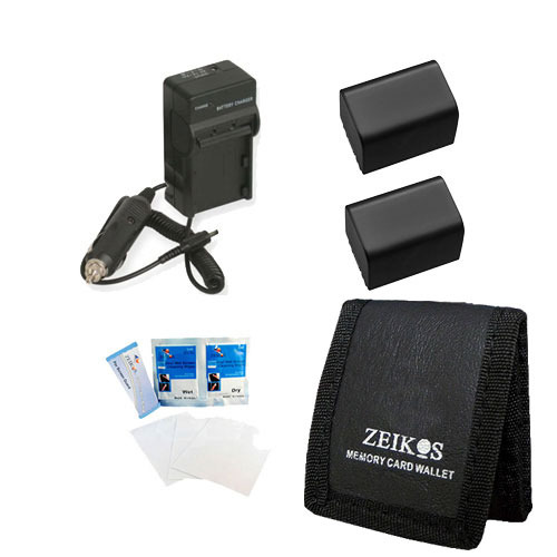 Special Travel Power Kit for the Sony HDR-CX190, CX200, CX260V, XR260V, CX210