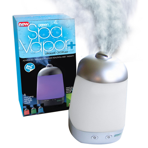 Greenair 00520 Spa Vapor Plus  Essential Oil Diffuser - White