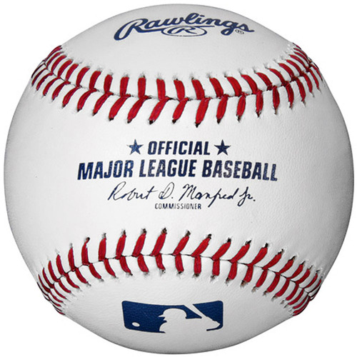 Rawlings Official Major League Baseball with new Commissioner
