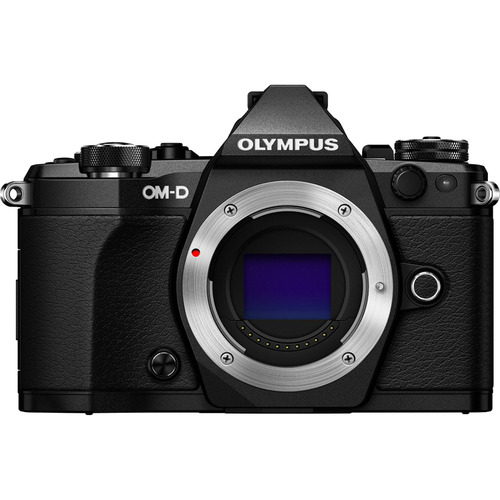 Olympus OM-D E-M5 Mark II Micro Four Thirds Digital Camera Body Only - Black