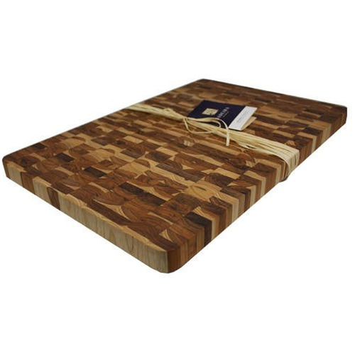 Madeira Canary Teak End-Grain Chop Block, Jumbo - 1034