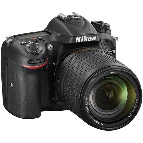 D7200 DX-format Black Digital SLR Camera Kit with 18-140mm VR Lens
