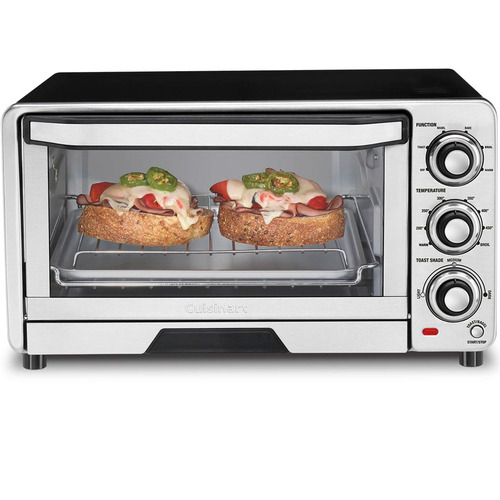 Cuisinart Custom Classic Stainless Steel Toaster Oven Broiler - Factory Refurbished