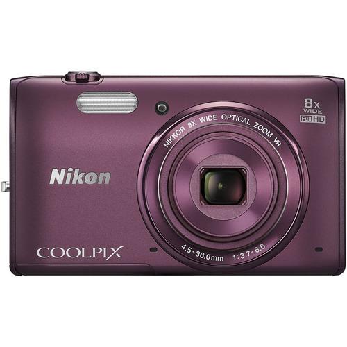 Nikon COOLPIX S5300 16MP 8x Zoom Full HD 1080p WiFi
