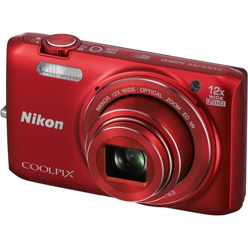 Nikon COOLPIX S6800 16MP 1080p HD Video Digital Camera