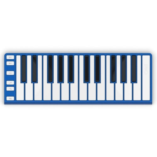 CME Xkey 25-Key MIDI Portable Mobile Musical Keyboard - Blue
