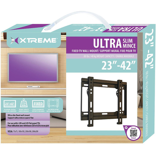 Xtreme Flat Mount for 23-42 inch TVs