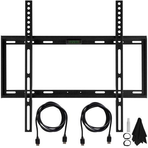 Deco Mount Slim Flat Wall Mount Kit Ultimate Bundle for 19-45 inch TVs